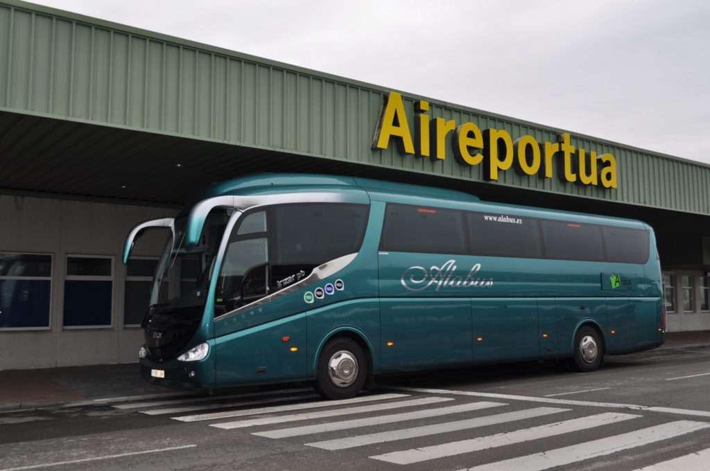 Transporte en autobús a aeropuerto vitoria