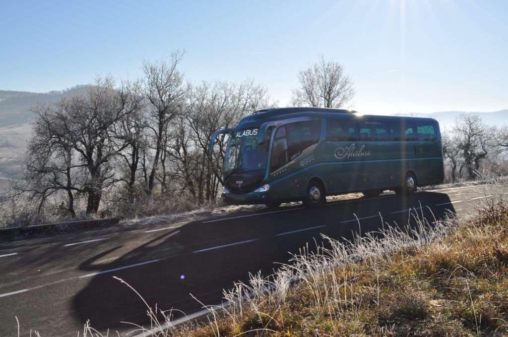 autobus 60 plazas de alabus