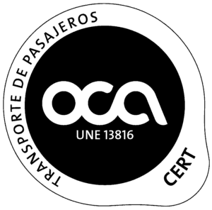 Certificado OCA 2012 13816 color negro